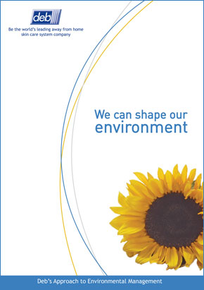 Front cover of the Environment Brochure